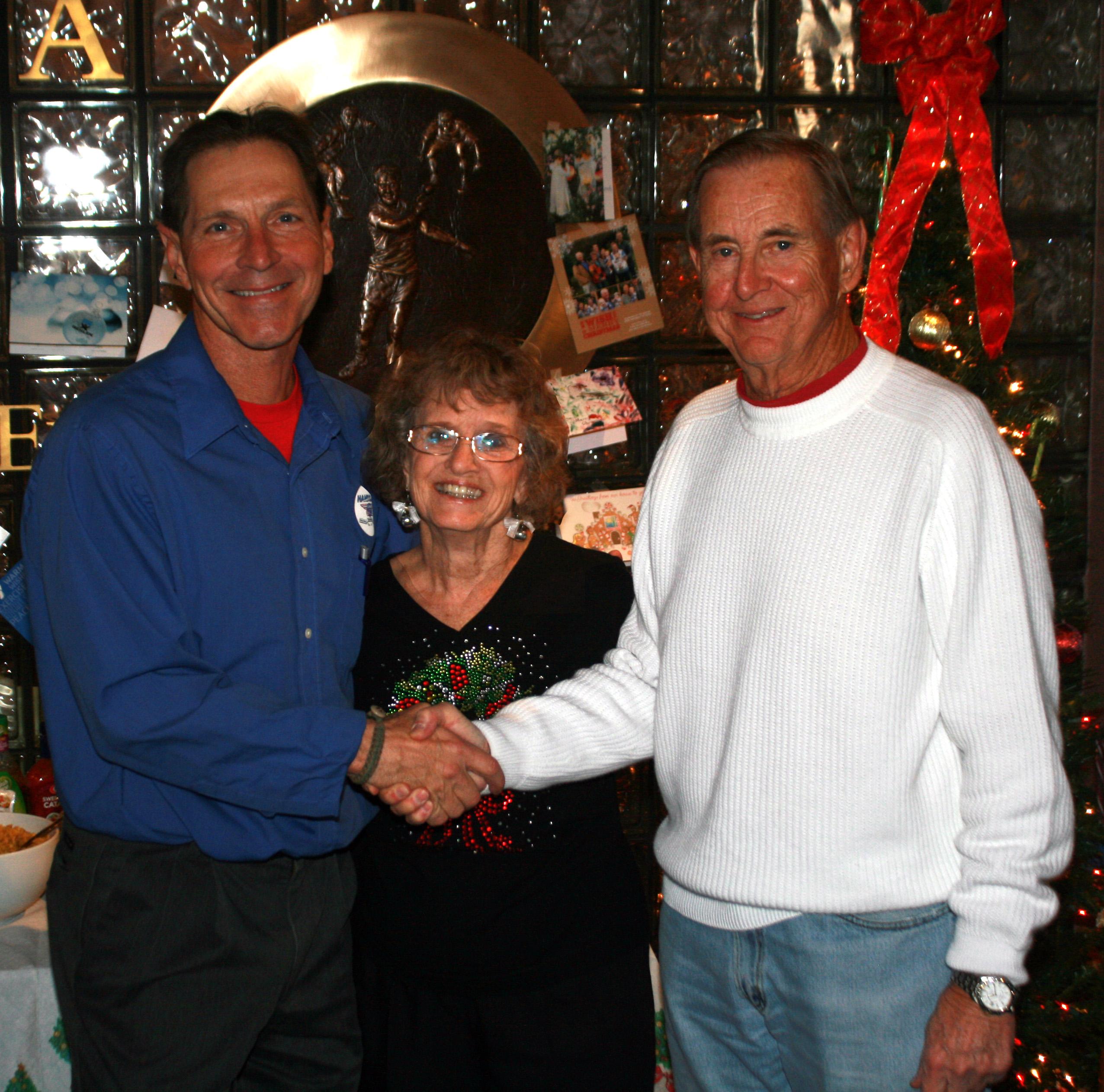 Bob & Sue Delaney with Vern Roberts
